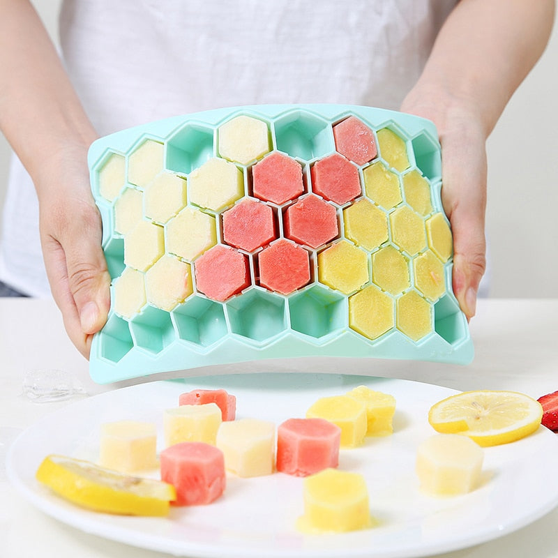 Honeycomb Ice cubes
