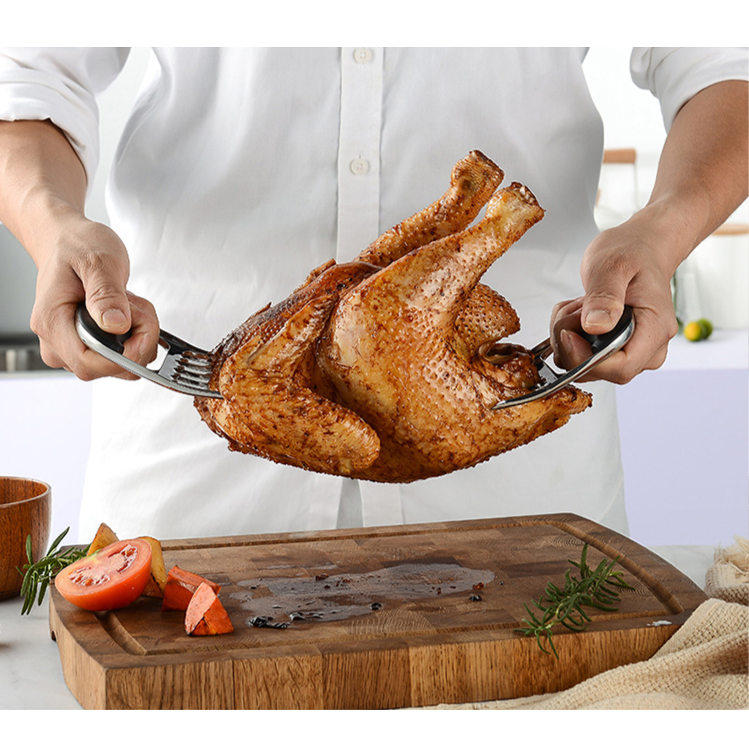 How to cut a whole chicken for thanksgiving