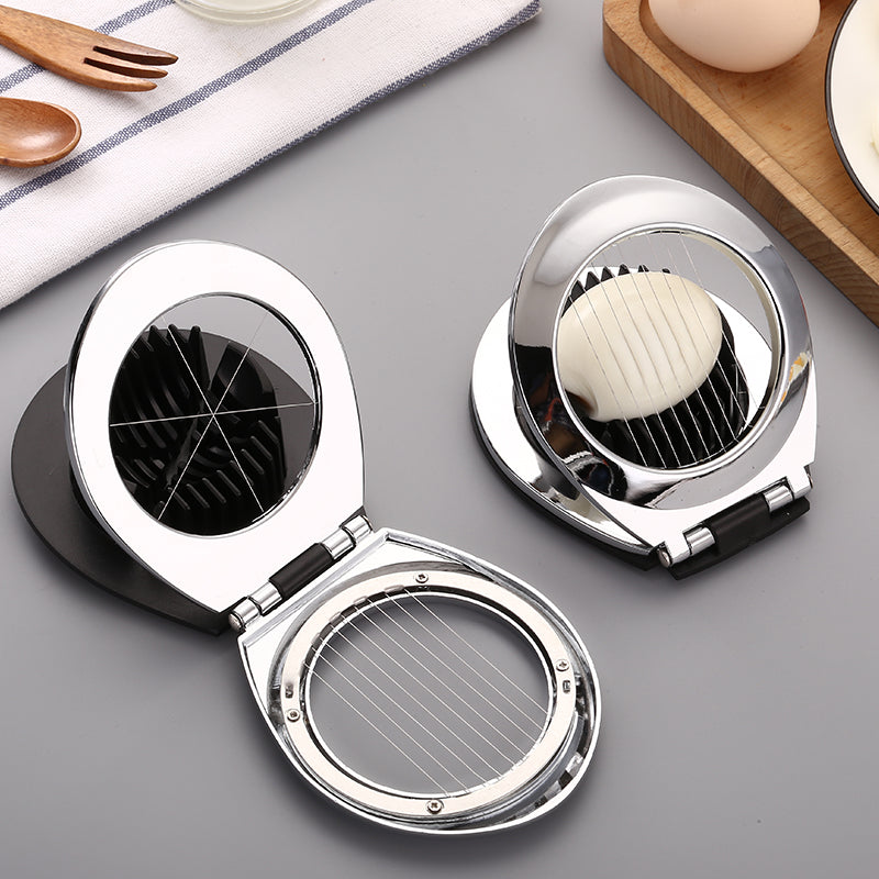 Zinc alloy egg slicer