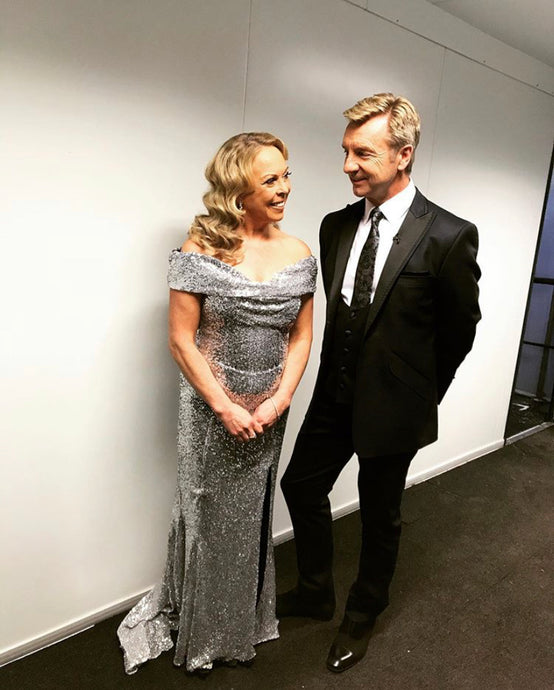 Christopher Dean is looking sharp!
