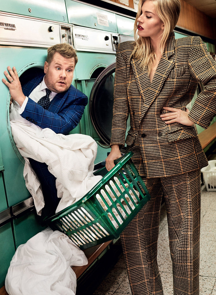 James Corden in William Hunt for Vogue Magazine