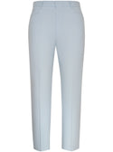 Sky Blue Trouser with Fine Pinstripe
