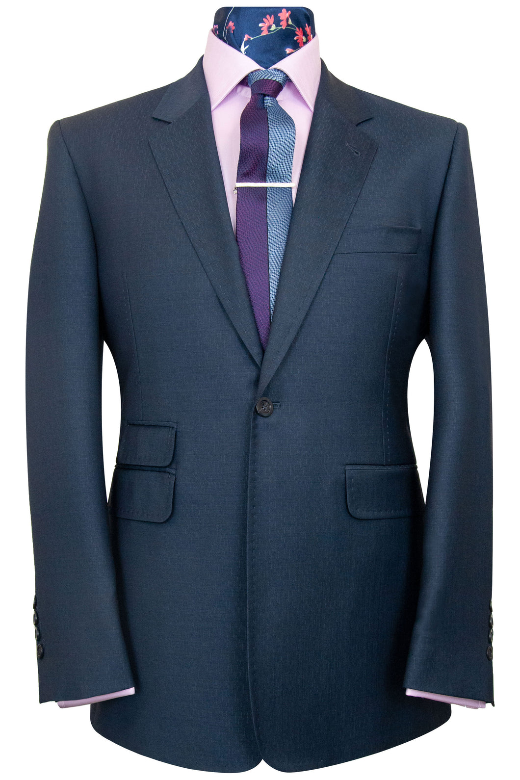 The Caldwell Prussian Blue Suit