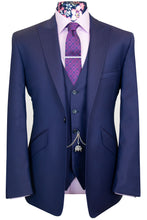The Crawford Classic Navy Suit