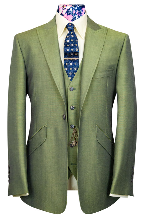 The Alvarez Pistachio Shot Suit