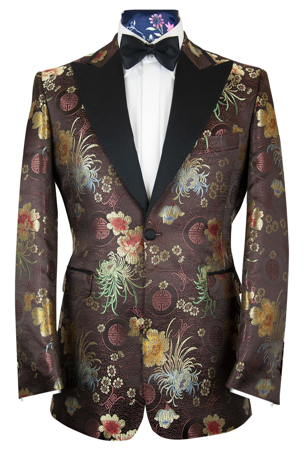 The Harley Dinner Jacket in Chinese Brocade