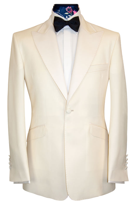 The Connery Alabaster White Dinner Jacket