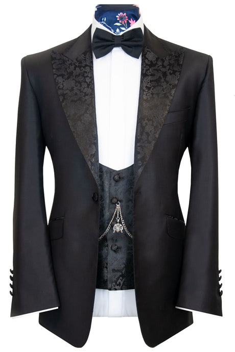 The Ainsley Black Dinner Suit