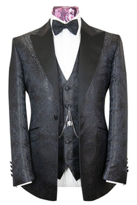 The Allen Black Paisley Dinner Jacket