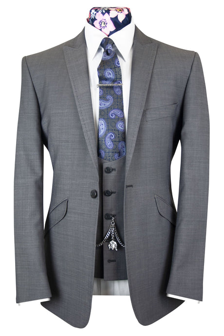 The Windsor Grey Suit