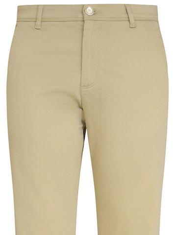 Putty Stretch Cotton Chino Trouser