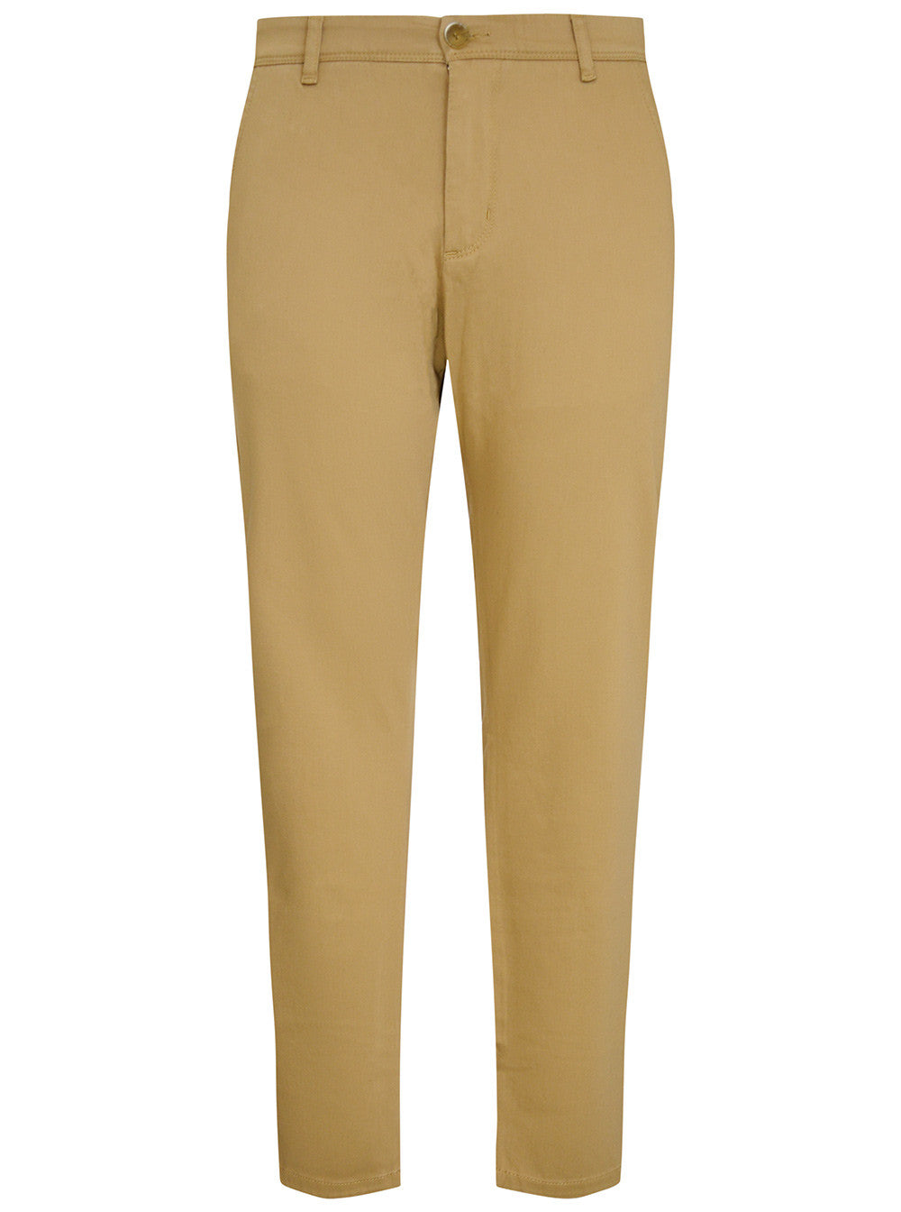 Camel Stretch Cotton Chino Trouser