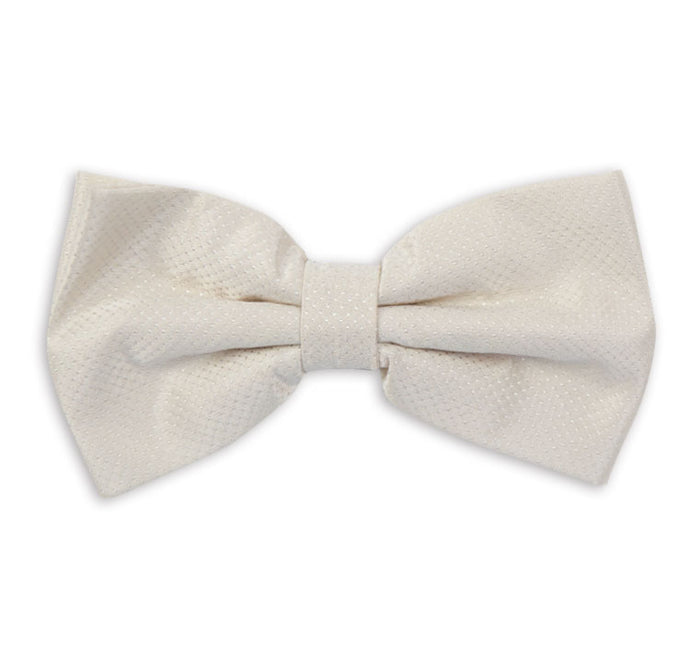 Cream Fancy Dinner Bow Tie