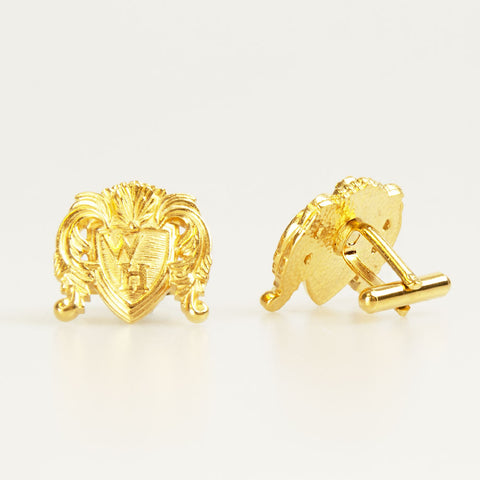 Classic Gold WH Cufflink Front