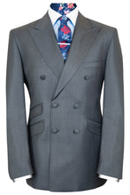The Anderson Double Breasted Classic Charcoal Suit