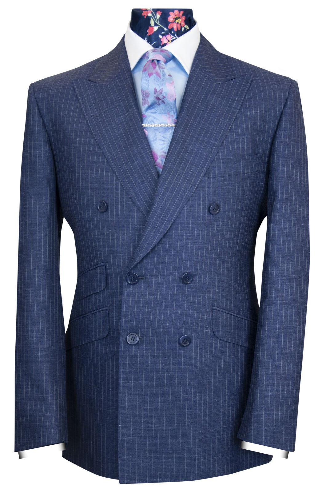The Allerton Classic Navy Pinstripe Suit