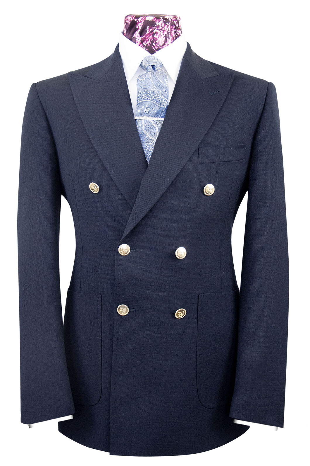The Lockwood Midnight Navy Blazer