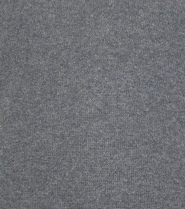 Grey Half Zip WH Knitted Jumper Close Up