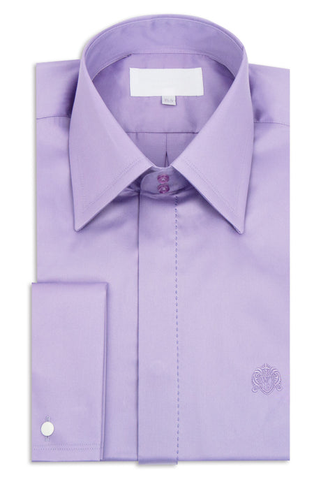 Classic Lilac Forward Point Collar Shirt