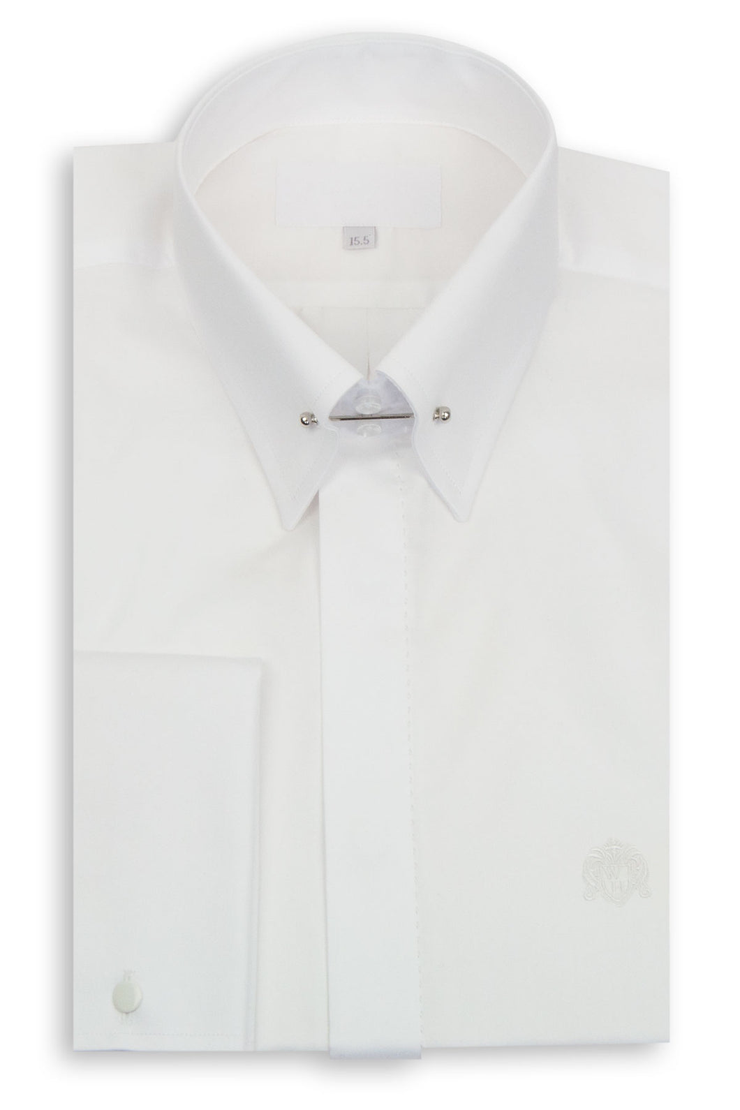 White Point Pin Collar Shirt