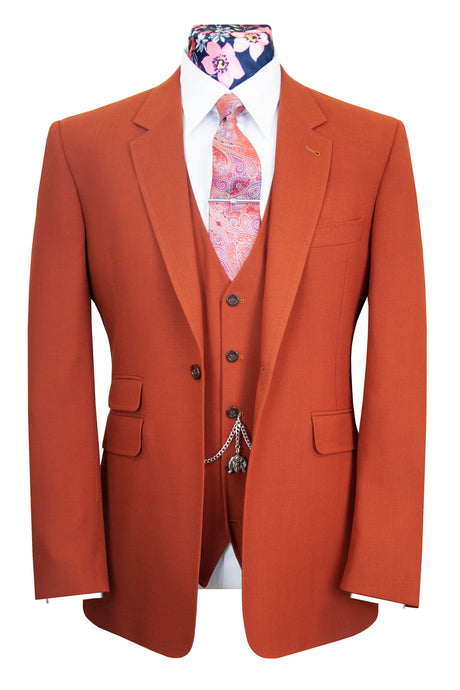 The Coltishall Burnt Orange Classic Suit