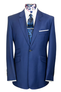 William Hunt Savile Row The Palmer Navy Blue Suit
