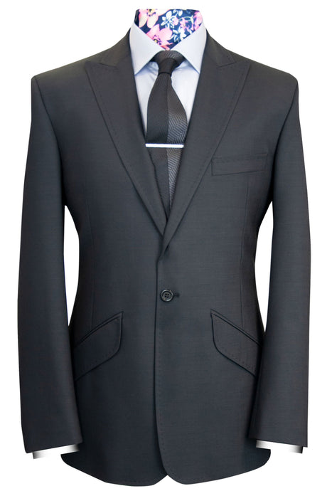 The Bennett Charcoal Classic Suit