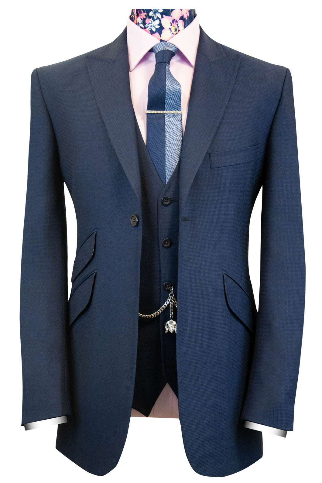 The Parker Blue Classic Suit