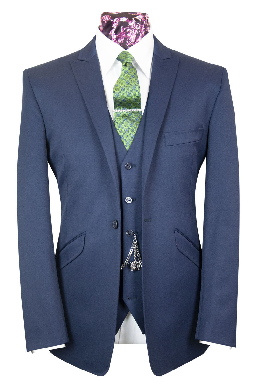 The Langmore Classic Navy Suit