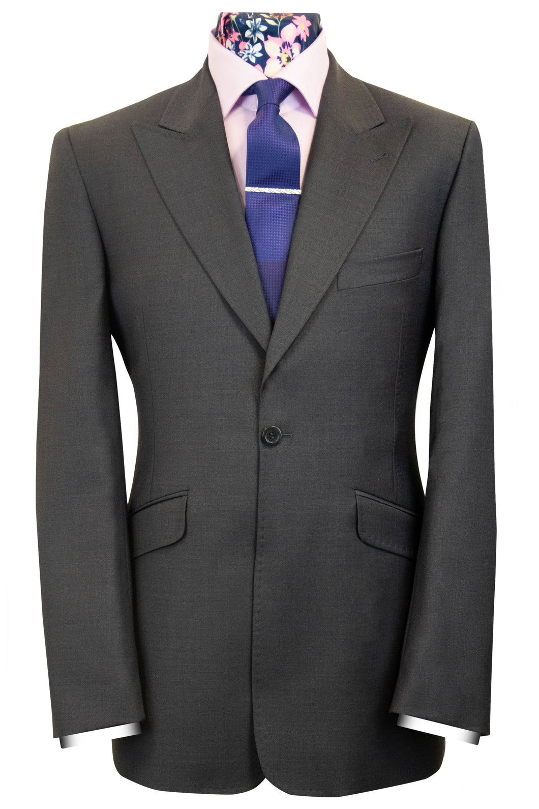 The Daniels Classic Charcoal Suit
