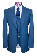 The Elsing Marine Blue Classic Suit