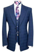 The Cresswell Navy Check Suit