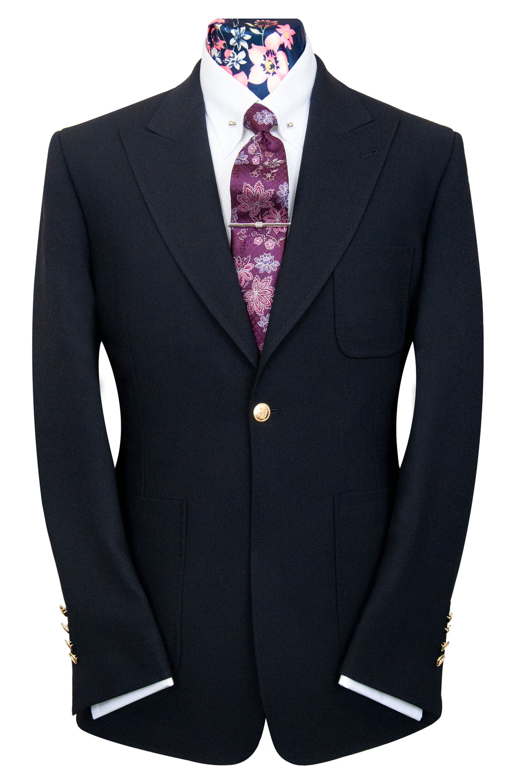 The Chambers Jet Black Blazer