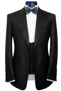 The Baker Classic Black Dinner Suit