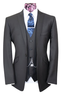 The Bruce Charcoal Classic Suit