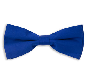 Royal Blue Plain Skinny Bow Tie