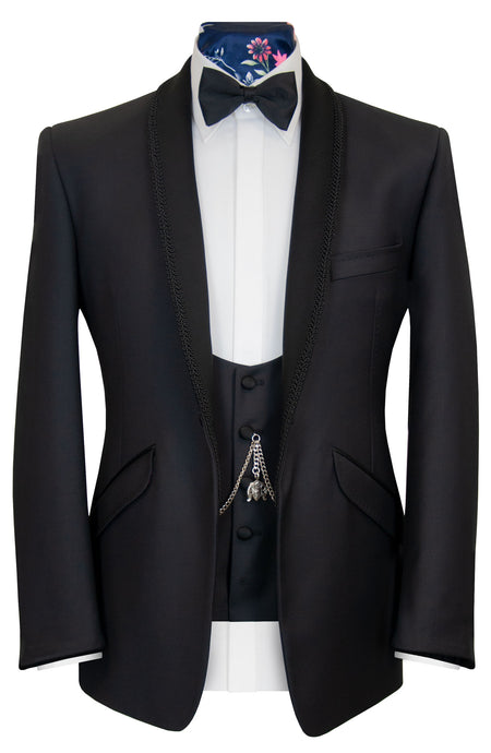 The Digby Black Dinner Suit