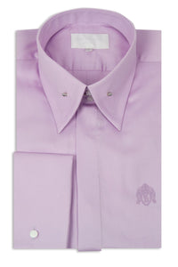 Lilac Point Pin Collar Shirt