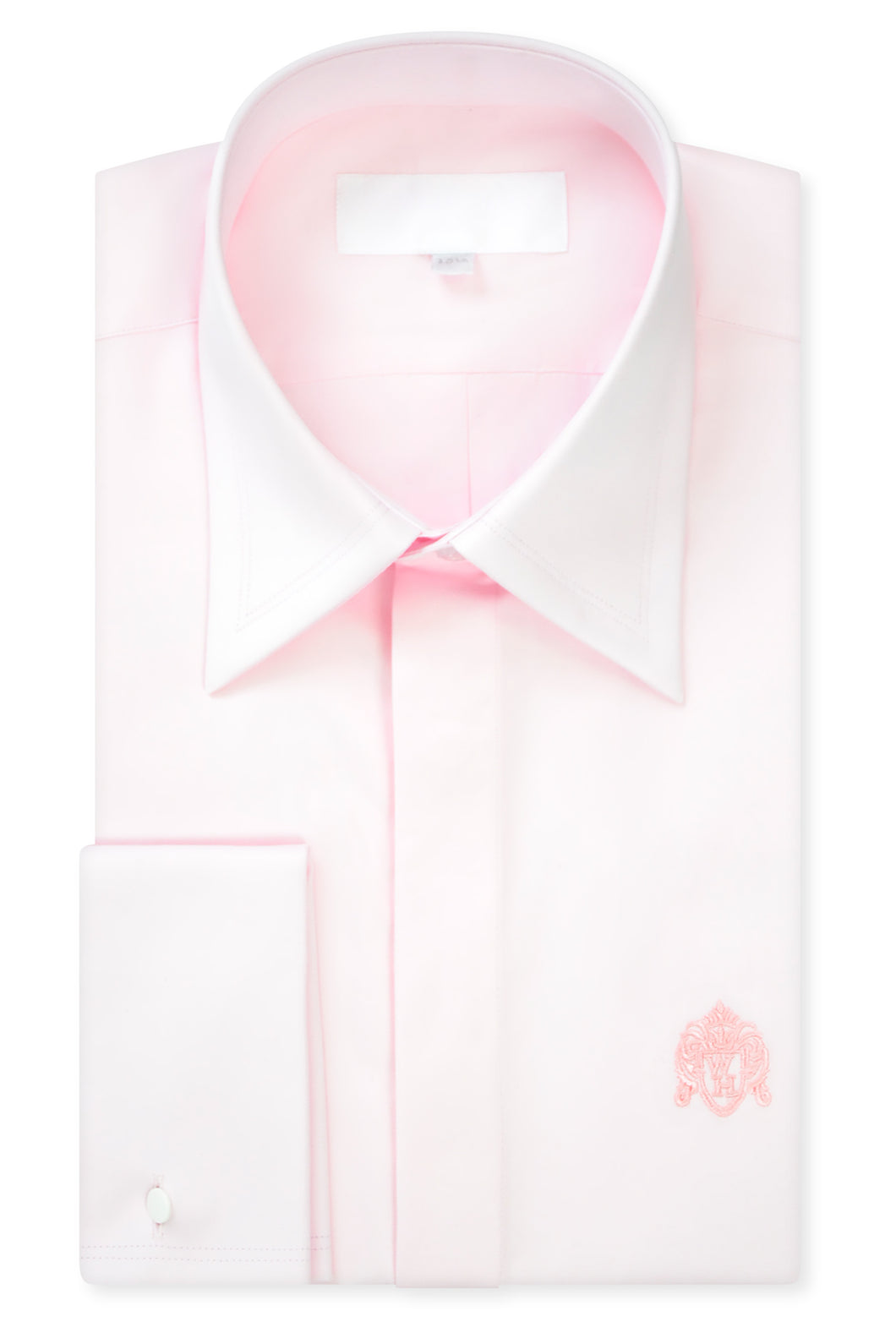 Classic Light Pink Forward Point Collar Shirt