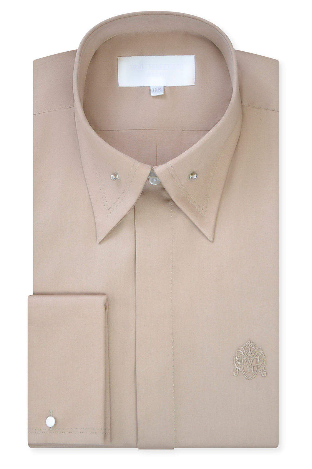 Sand Point Pin Collar Shirt with Matching Tie