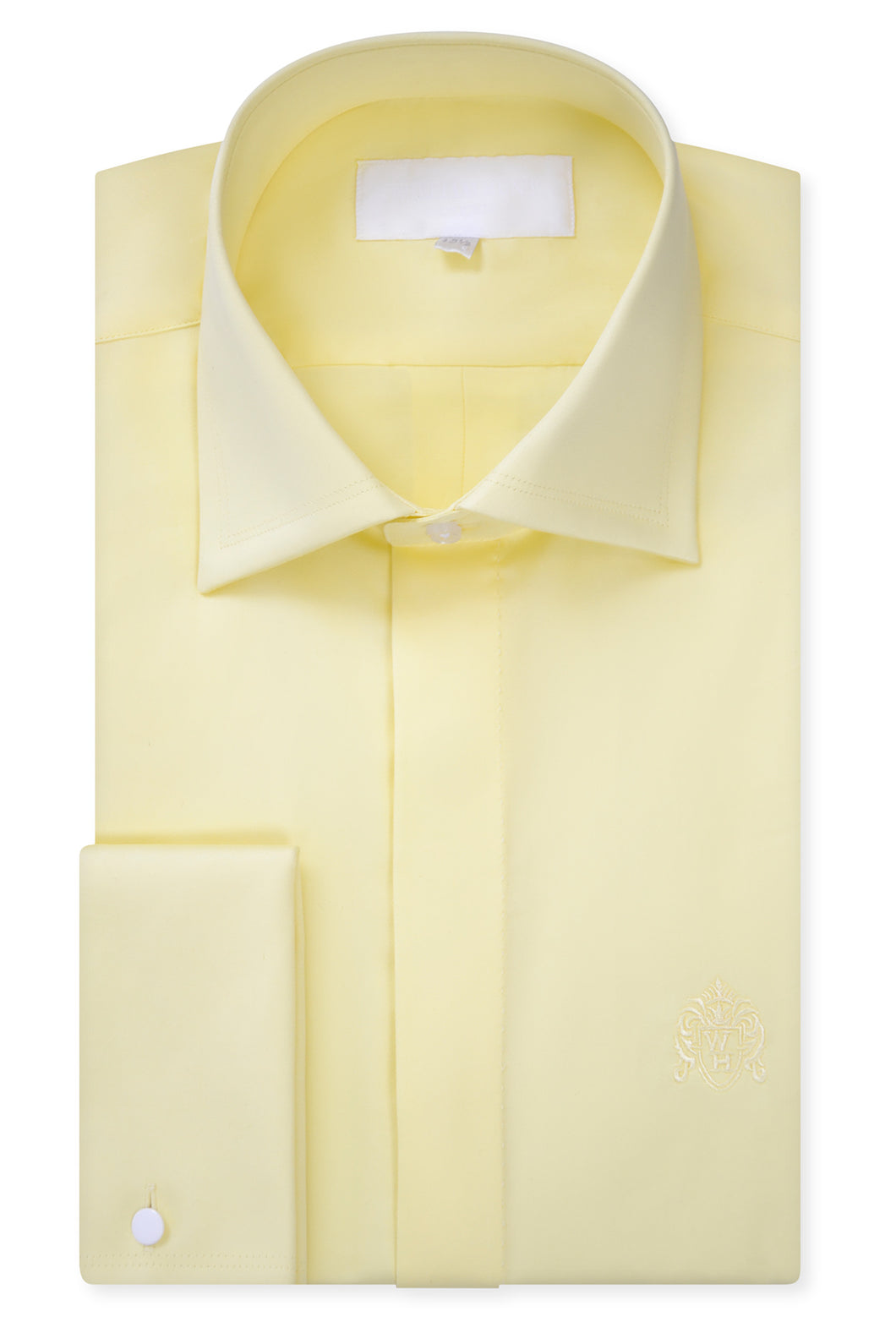 Yellow Cutaway Collar Shirt