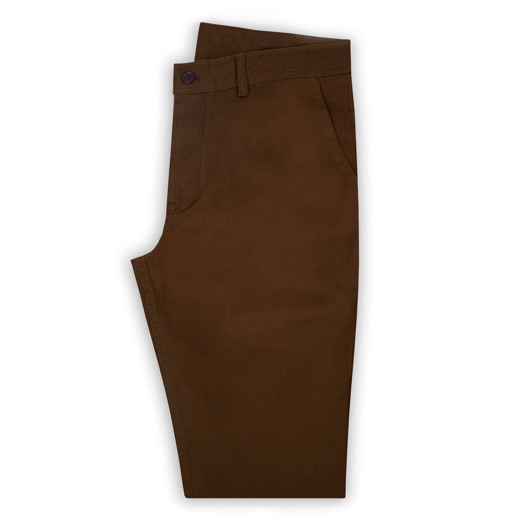 Chocolate Chino Trouser