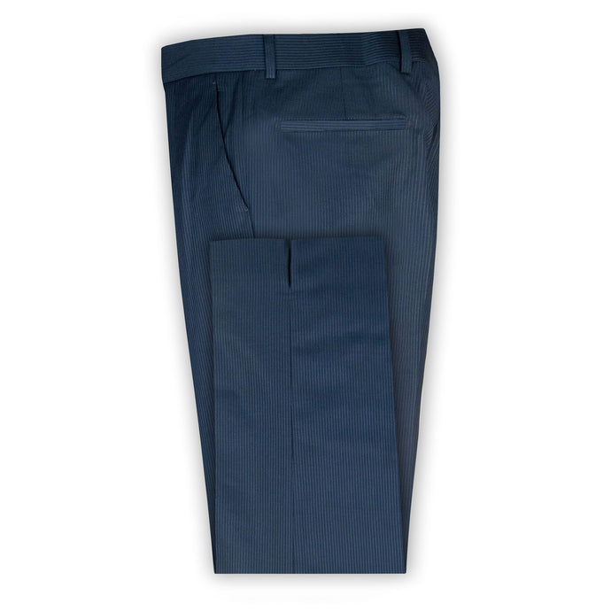 Midnight Navy Pinstripe Trouser