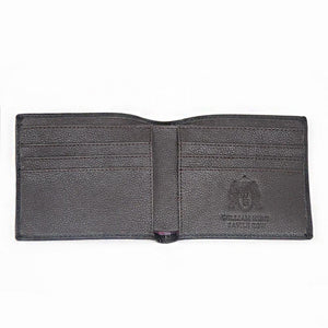 Black With Brown Inner WH Wallet Inside