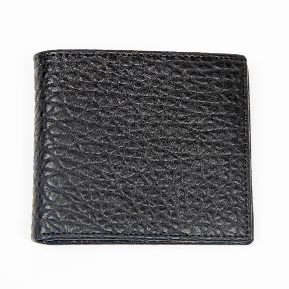 Black Snake Design WH Wallet Front