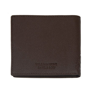 Brown With Brown Inner WH Wallet Back