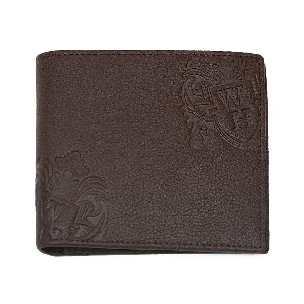 Brown With Brown Inner WH Wallet