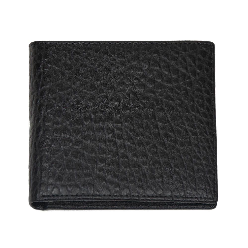 Black Snake Design WH Wallet with inner Zip Pocket