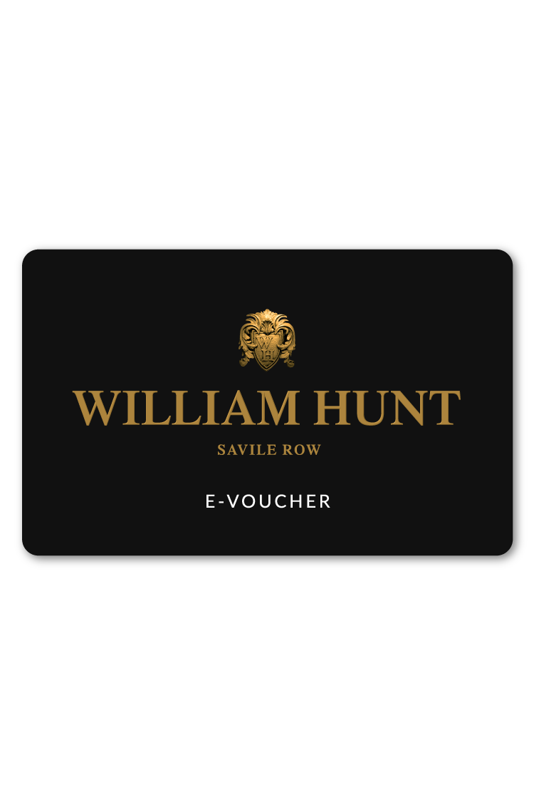 William Hunt Gift Voucher Aw17 Black Label Suits