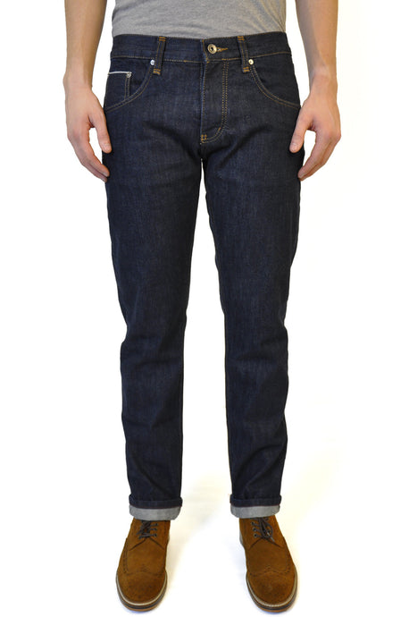 Washed Selvedge Jean - William Hunt Savile Row  - 1